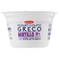 Yogurt Greco Mirtillo 0% Bennet