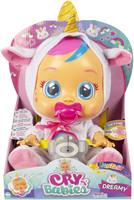 Bambola Cry Babies Fantasy Dreamy Unicorno