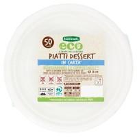 Piatti Dessert In Carta Bennet Eco Cm . 18