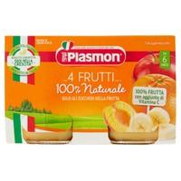 Omogeneizzato Ai 4 Frutti Plasmon 2 Da Gr.104