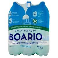 Acqua Frizzante Boario 6 Da L . 1 , 5