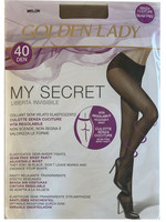 Collant My Secret Tg 2 Melon 40 Denari Golden Lady