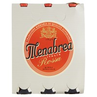 Birra Menabrea Rossa 3 Bottiglie Da Cl . 33