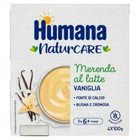 Merenda Al Latte Gusto Vaniglia Humana