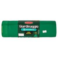 Sacchi Per Immondizia Super Resistenti Con Maniglie Verdi Giardinaggio