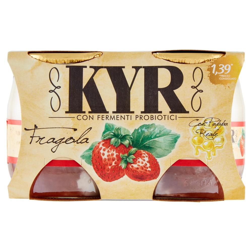 YOGURT KYR FRAGOLA