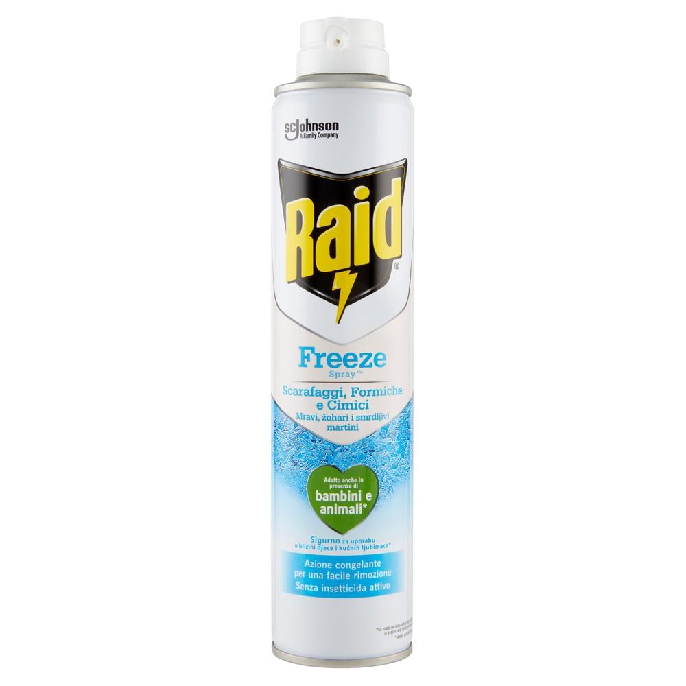 RAID SCA/FOR FREEZE