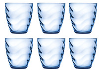 6 Bicchieri Acqua Wave Pasabahce
