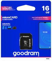 Memoria Microsd Classe 10 Uhs I 16 gb Goodram