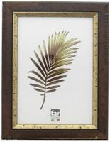 Cornice Crilex Colbert Noce Filo Oro Farcm.40x50