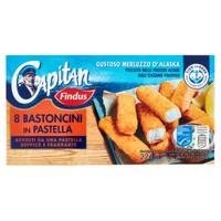 8 Bastoncini Di Merluzzo In Pastella Capitan Findus