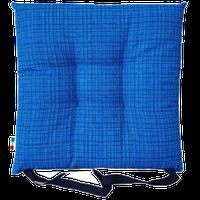 Cuscino Sedia Tessuto Stampato Cm 40 x 40 Blu