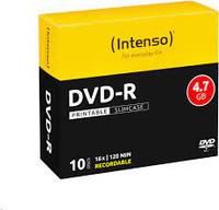 Confezione 10pz Dvd-R 4,7gb 16x Intenso