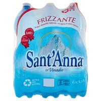 Acqua Frizzante Sant ' anna 6 Da L . 1 , 5