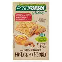 Biscotto Integrale Miele E Mandorle Nature Pesoforma