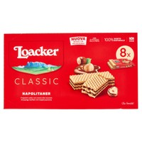 Wafer Napolit . X 8 Loacker