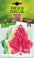 Profumatori Auto Fresca Foglia Arexons Confezione 3 x 2