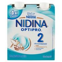 2 Optipro Hm - o Latte Per Lattanti Liquido Da 6 Mesi Nidina 4 Da Ml . 500