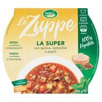 Zuppa Super Quinoa Lenticchie Piselli