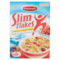 Slim Flakes Ai Frutti Rossi Bennet