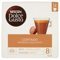 Capsule Caffe ' Espresso Macchiato Nescafe ' Dolce Gusto , Conf . da 30 + 4