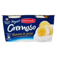 Yogurt Intero Cremoso Alla Banana Bennet 2 Da Gr . 125