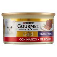 Alimento Umido Per Gatti Con Manzo Gourmet Gold
