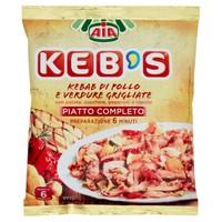 Kebab Di Pollo Con Verdure Grigliate Keb ' s