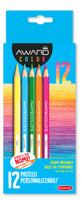 12 Pastelli Mina 2 , 9 Mm Colori Brillanti Facili Da Temperare