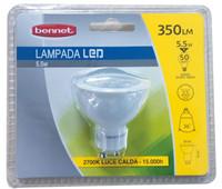 Lampadina A Led Sport 5 w Gu 10 Bennet Luce Calda