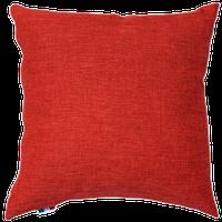 Cuscino Arredo Con Zip Cm 40 x 40 Rosso