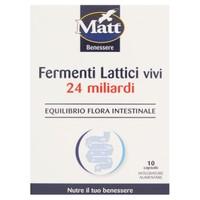 Fermenti Lattici Vivi 24 Miliardi Matt , 10 Capsule