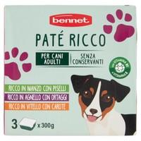 Pate ' Per Cani Ricco Bennet