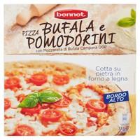 Pizza Mozzarella Di Bufala Campana D . o . p . E Pomodorini Bennet