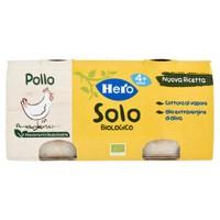 Omogeneizzato Solo Di Pollo Bio Hero 2 Da Gr . 80