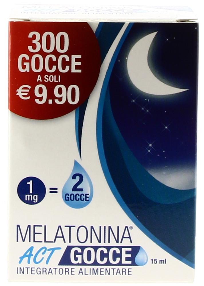 P-ACT MELATONINA GOCCE