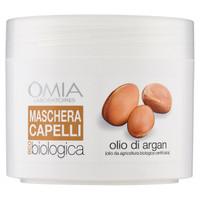 Maschera Capelli Olio Argan Omia