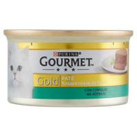 Alimento Umido Per Gatti Con Coniglio Gourmet Gold