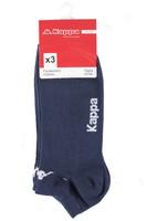 Calze Sneaker Uomo 42 / 44 Blu Marine Conf Da 3 Kappa