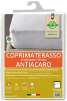 Coprimaterasso 2pz Cm175x195 In Tessuto Trattato Antiacaro Greenfirst