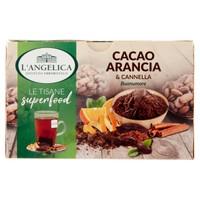 Tisana Cacao Arancia Cannella L ' angelica 18 Filtri
