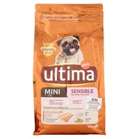 Alimento Secco Per Cani Mini Monoproteico Salmone Riso 1 , 5 Kg Ultima