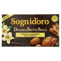 Infusi Delizie&Frutta Secca Vaniglia E Nocciola Con Cannella