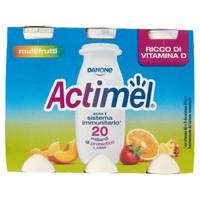 Actimel Multifrutti Danone 6 Da Ml . 100