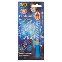 Candeline Musicali Azzurre Rebecchi