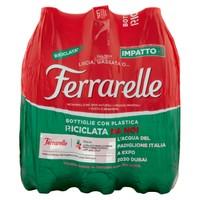 Acqua Effervescente Naturale Ferrarelle 6 Da L . 1 , 25