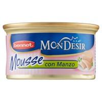 Mousse Per Gatti Con Manzo Bennet Mon Desir