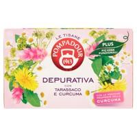 Tisana Depurativa Plus Pompadour , 18 Filtri