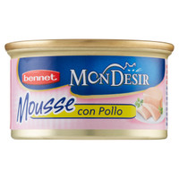 Alimento Umido Per Gatti In Mousse Al Pollo Bennet