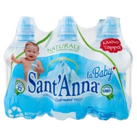 Acqua Naturale Baby Bottle Sant ' anna 6 Da L . 0 , 25